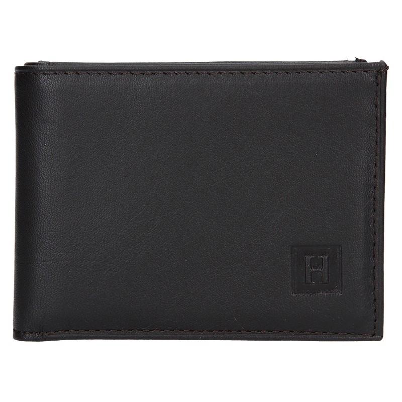 Pánská peněženka Hexagona 227139 - tmavě hnědá
