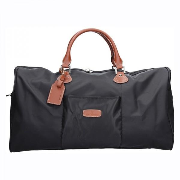 Unisex cestovní taška Hexagona Weekend - černá