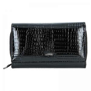 Dámská kožená peněženka Loren Sigma - černá