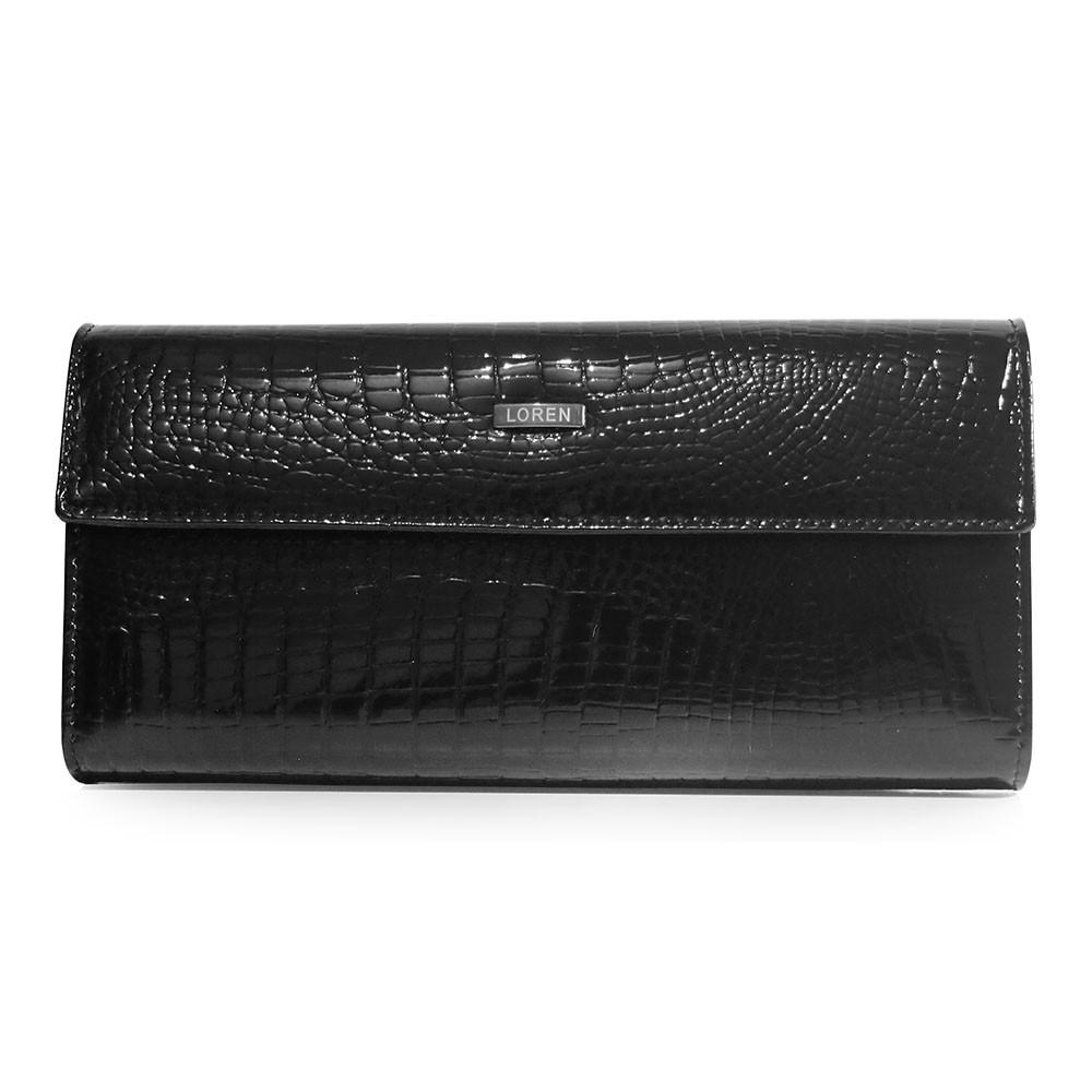 Dámská kožená peněženka Loren Miriam - černá
