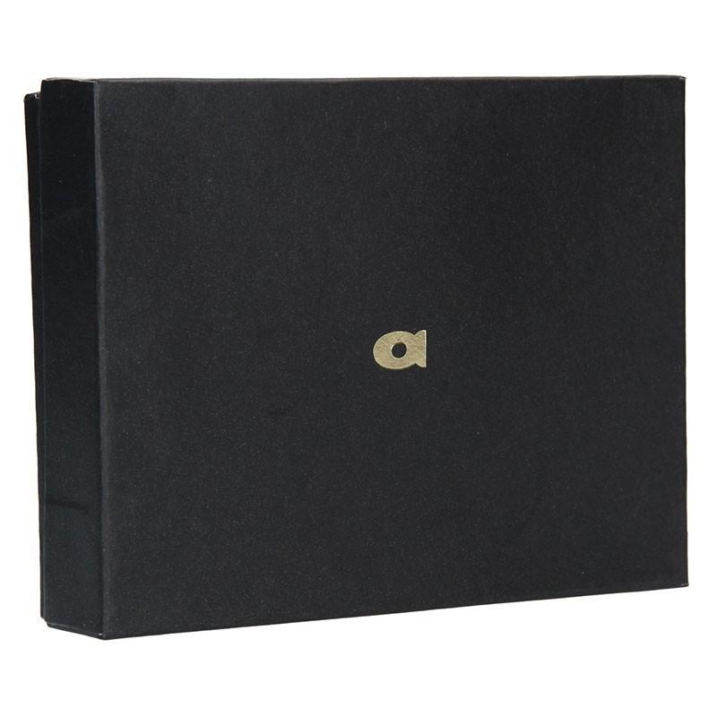 Pánská kožená peněženka Daag P05a - tmavě hnědá