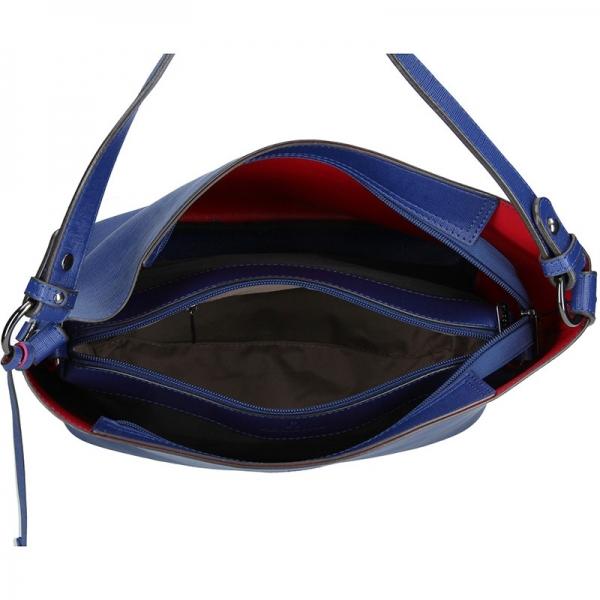 Dámská kabelka Hexagona 354979 - modrá