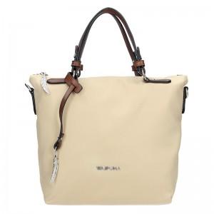 Dámská kabelka Waipuna Agnes - béžová