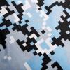 Pánské Boxerky Represent Exclusive Tetris - modrá