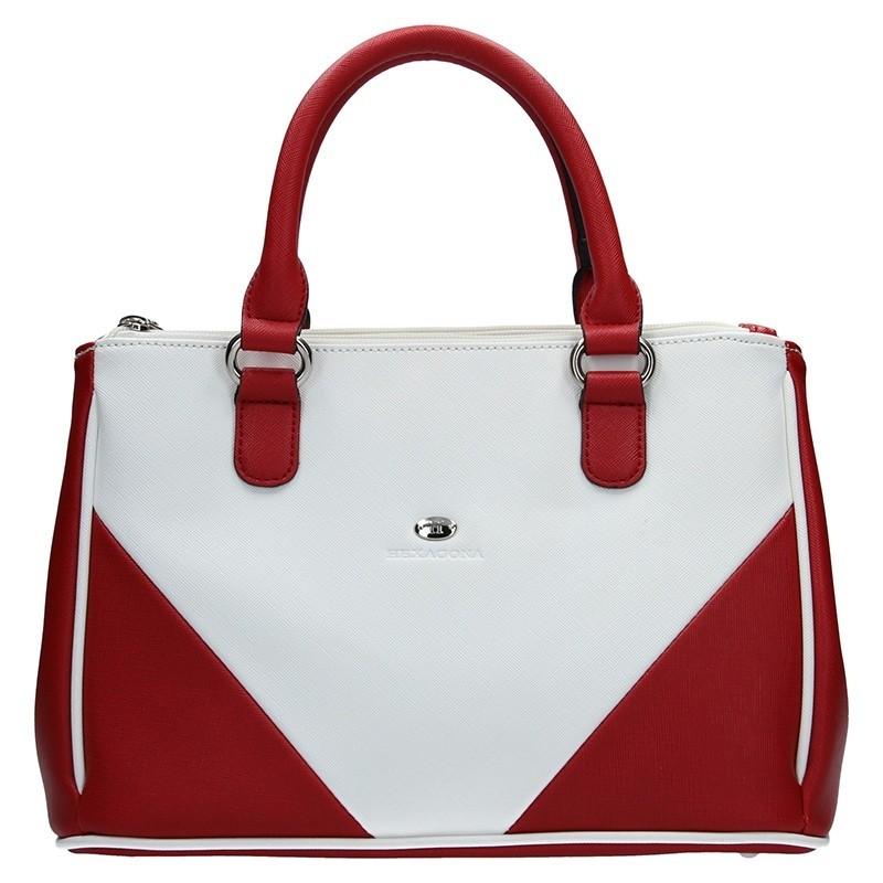 Dámská kabelka Hexagona 643733 - červená