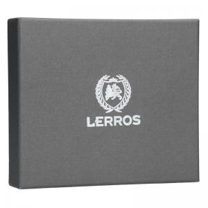 Kožená pánská peněženka Lerros Armand - hnědá
