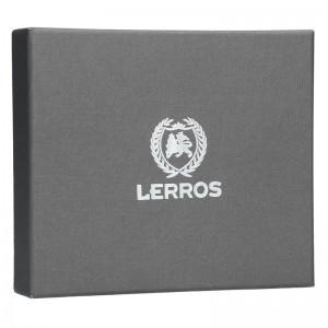 Kožená pánská peněženka Lerros Tibor - hnědá