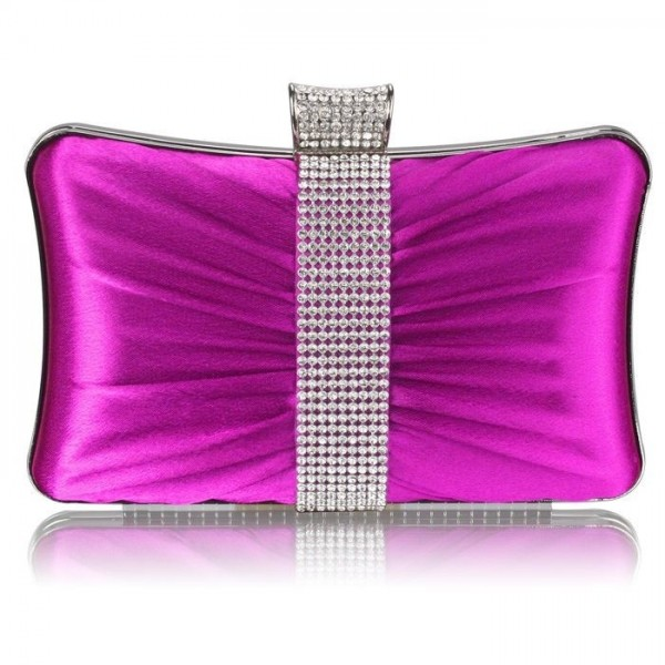 Dámské psaníčko LS Fashion Melissa - fialová