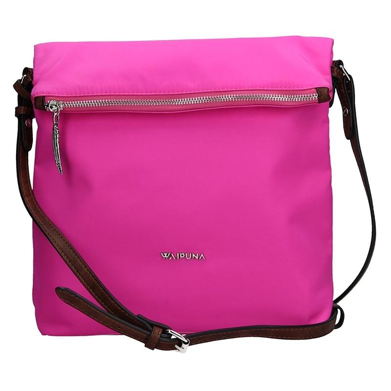 Dámská kabelka Waipuna Tamara - růžová de4843fb0e1