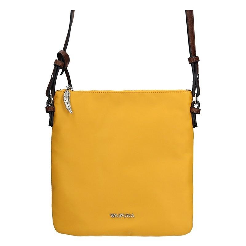 Dámská kabelka Waipuna Karla - žlutá 531f851db6f