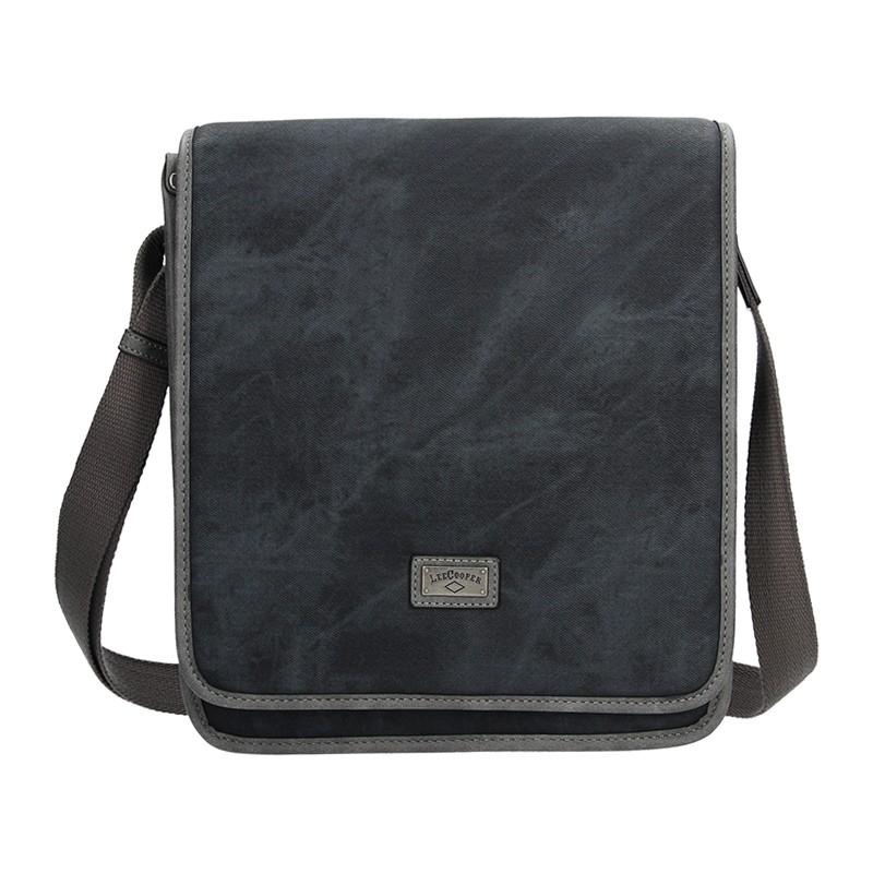 Panská taška na doklady Lee Cooper Noah - černá 97829b225a