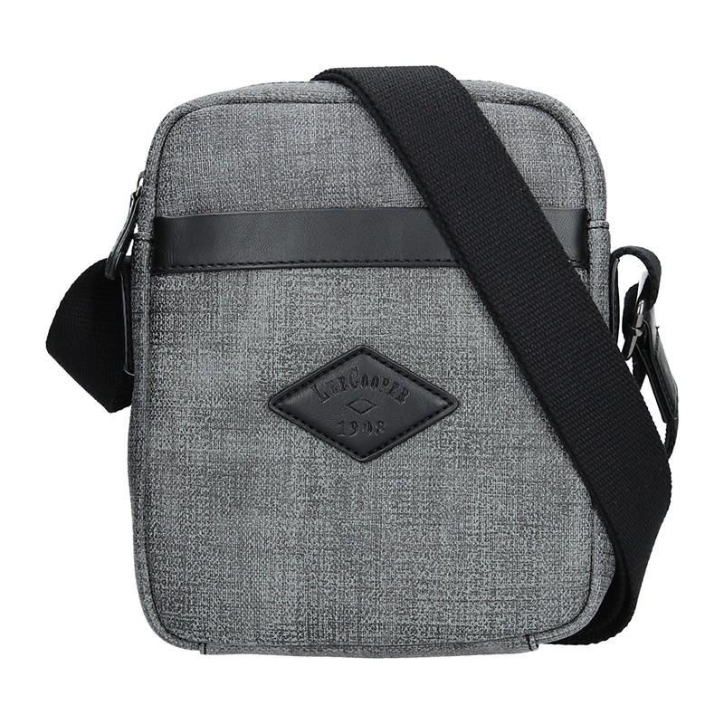 Pánská taška na doklady Lee Cooper Milano - šedá b5e96150ce