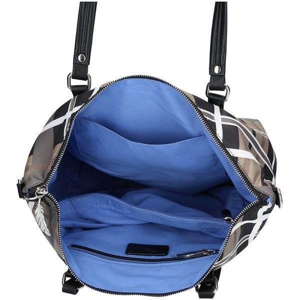 Dámská kabelka Waipuna Sandra - modro-šedá
