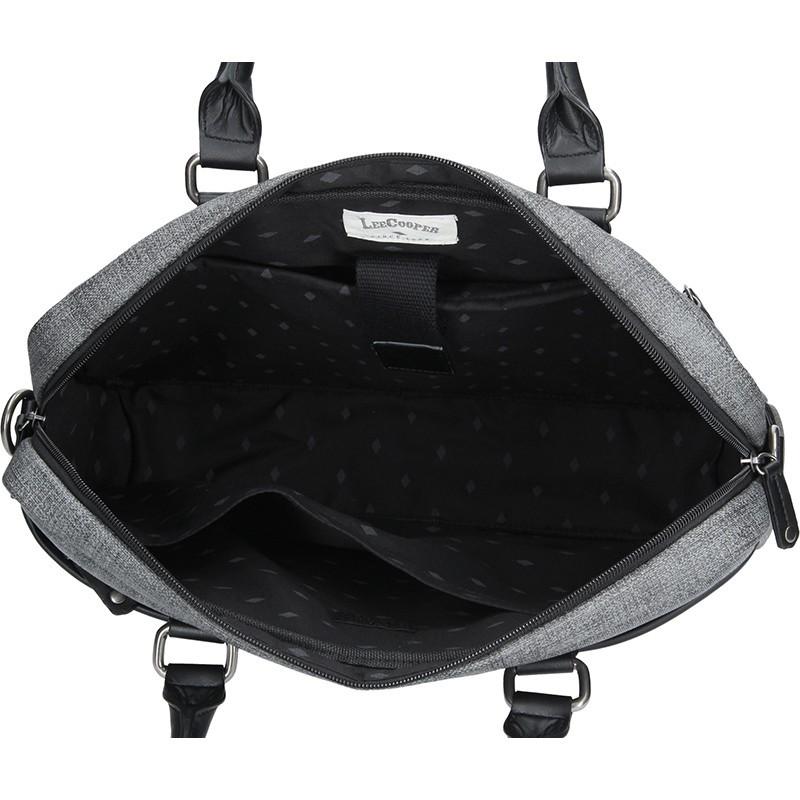Panská pracovní taška Lee Cooper Albert - černá 5660369421