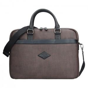 Pánská pracovní taška Lee Cooper Albert - hnědá