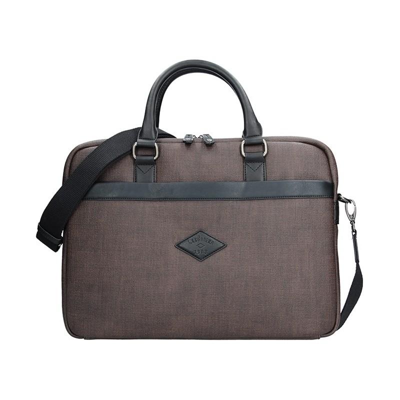 Pánská pracovní taška Lee Cooper Albert - hnědá. Pánská pracovní taška Lee  Cooper Albert - hnědá Přiblížit 0401989299