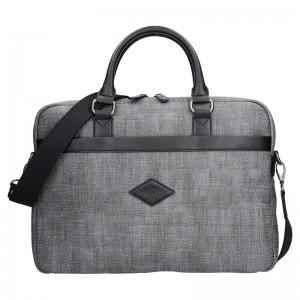 Pánská pracovní taška Lee Cooper Albert - šedá