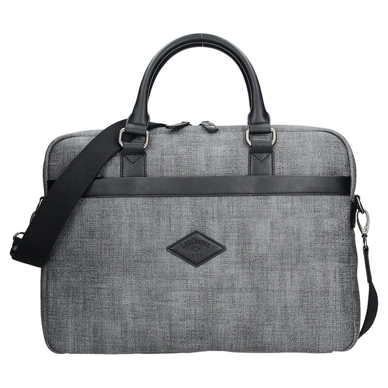 Pánská pracovní taška Lee Cooper Albert - šedá e7d96f061a