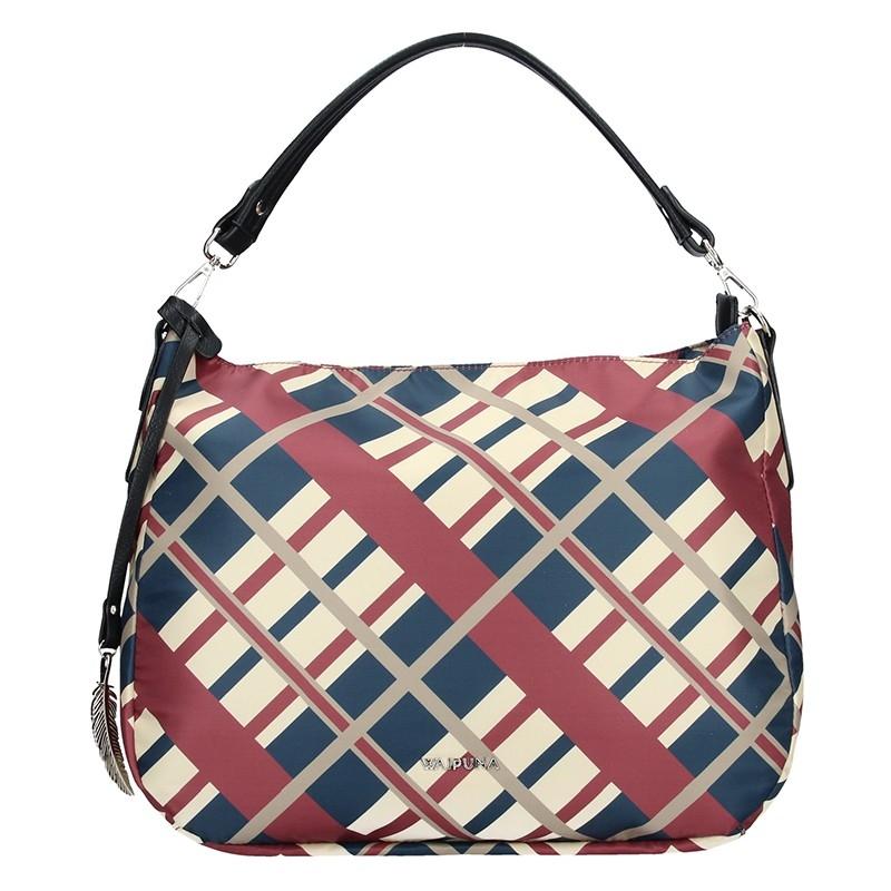 Dámská kabelka Waipuna Linda - červeno-modrá 34c9c082fae