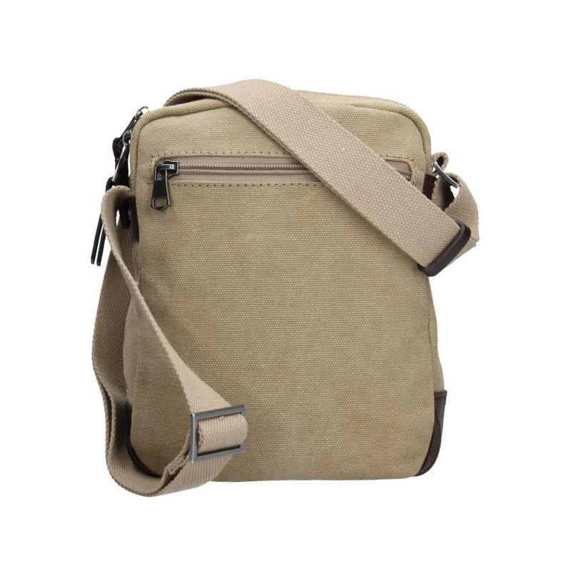 Pánská taška přes rameno Lerros Vily - béžová