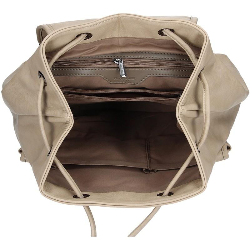 Dámský batoh Hexagona 374963 - broskvová