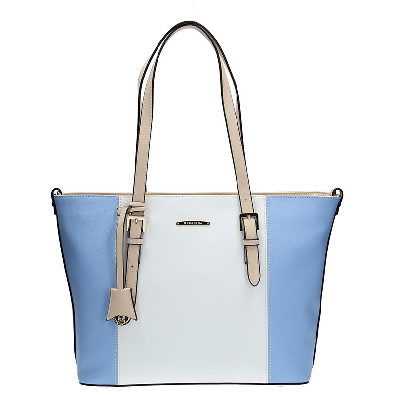 Dámská kabelka Hexagona 644891 - modrá