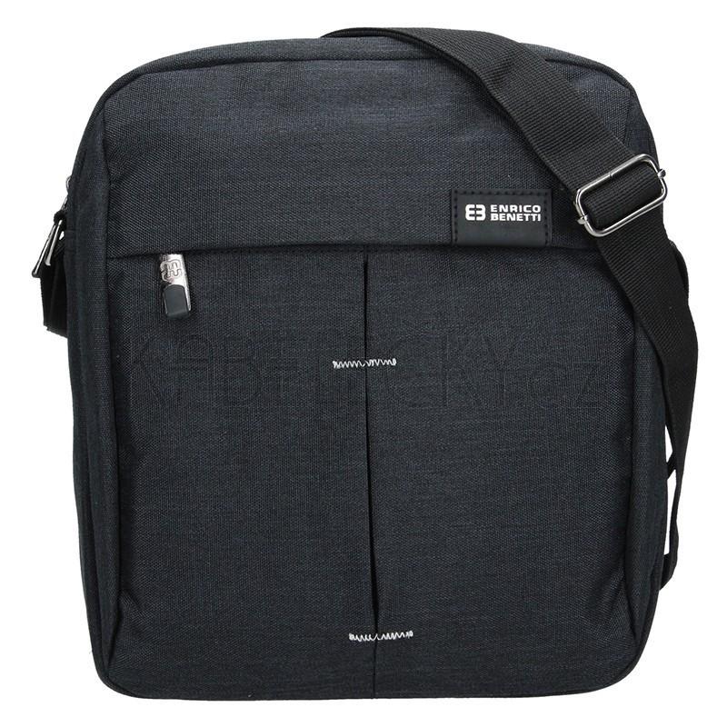 Textilní taška přes rameno Enrico Benetti