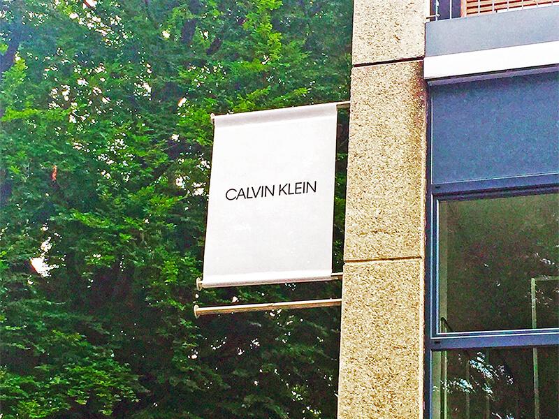 Foto z naší první návštěvy v Salzburgu u Calvin Klein.